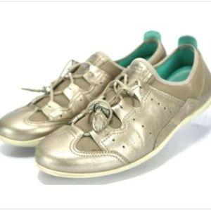 ECCO Women's Metallic Casual Sneakers Sz US 8-8.5